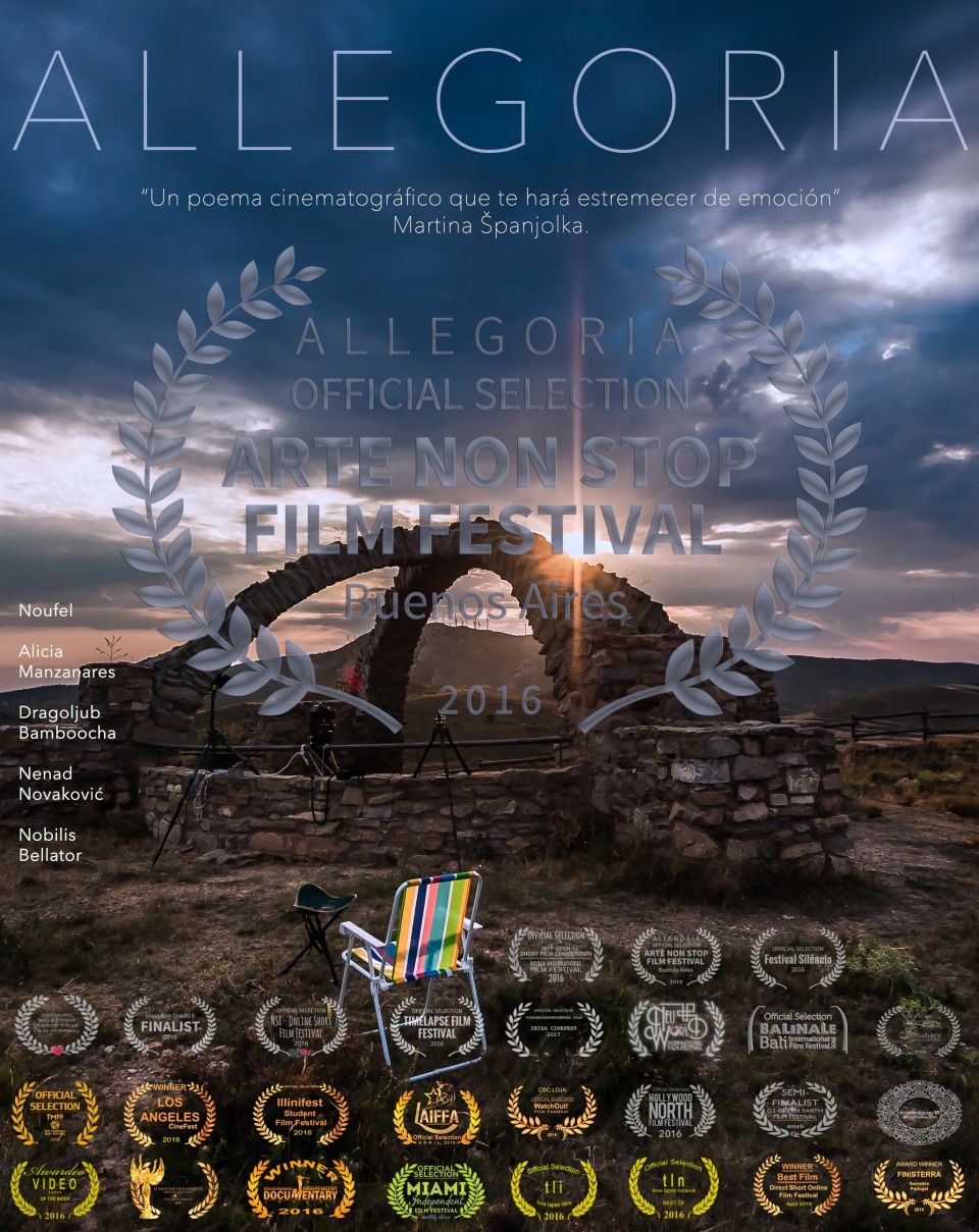 ALLEGORIA Poster Vertical With Text SPANISH ARTE NON STOP