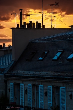 View from my apartment in Paris