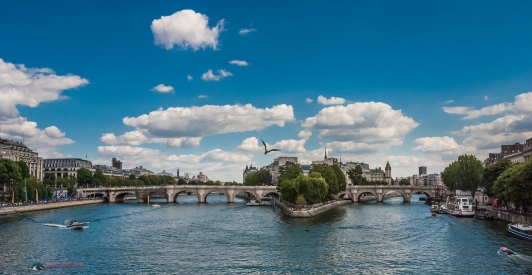 La Seine, in Paris