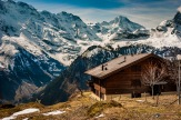 Views from Gimmelwald in the Swiss Alps