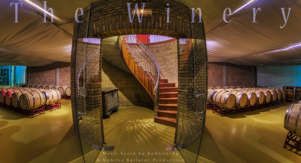 The Winery Horizontal Poster