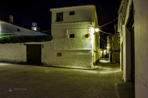 Night scenes in a Spanish Village in La Rioja