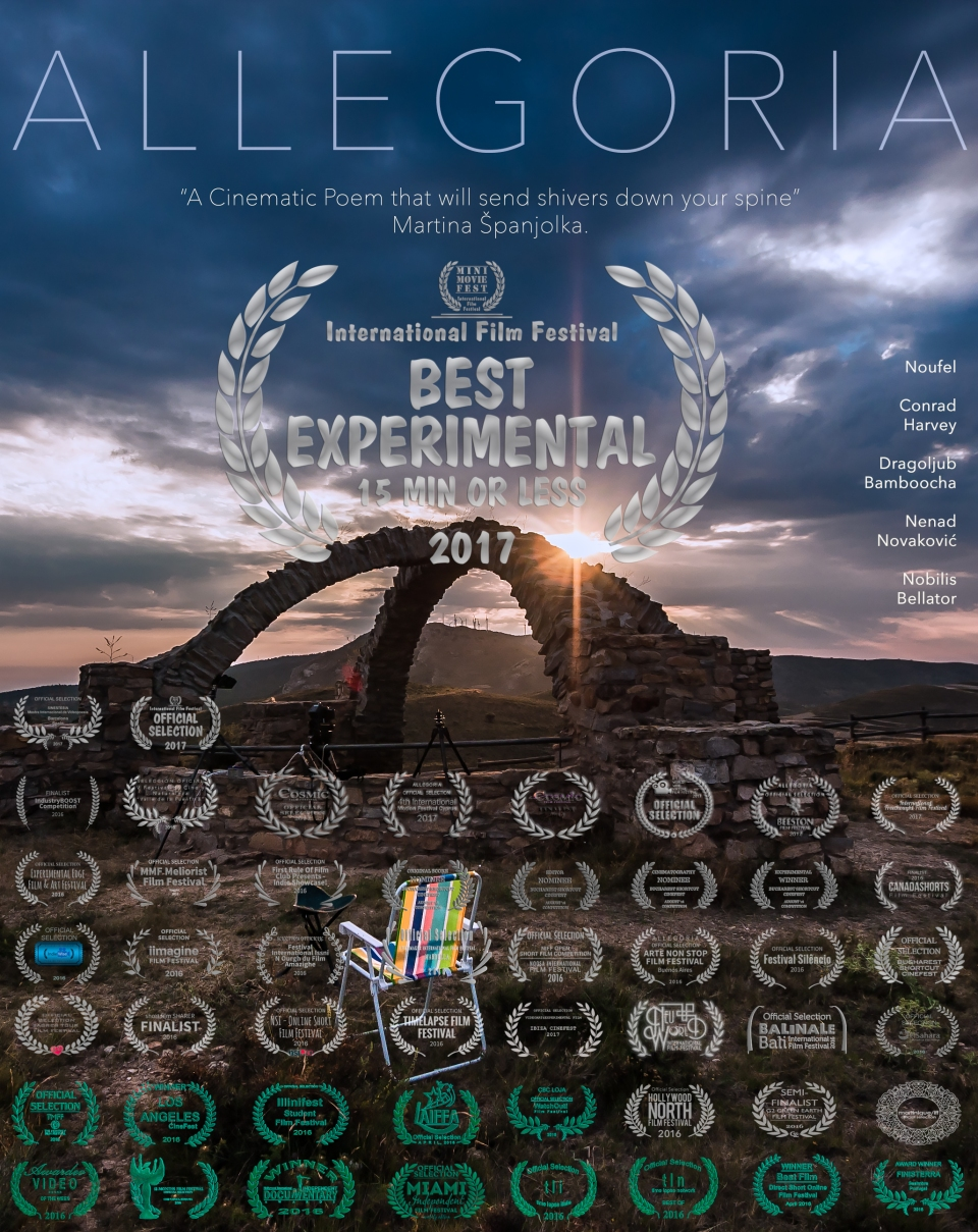 ALLEGORIA Poster Vertical with Text ENGLISH MMF Mini Movie 15 minutes or less